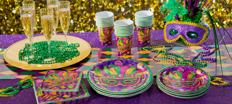 Masquerade Mardi Gras Party Supplies