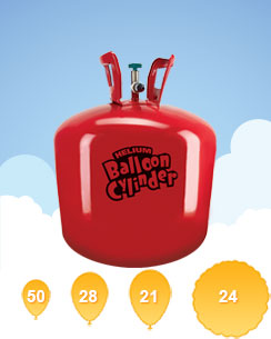 Helium Gas Canister (For 50 Balloons)