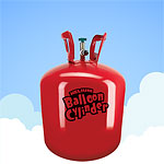 Helium Gas Canister (For 30 Balloons)