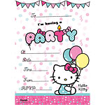 Hello Kitty Invites - Party Invitation Cards