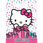 Hello Kitty Party Bags - Plastic Loot Bags