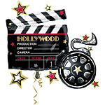 "Hollywood Supershape Balloon - 35"" Foil"