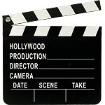 Hollywood Directors Clapper Board