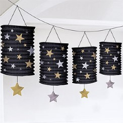 Hollywood Garland - 3.65m Lantern Garland