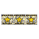 Awards Night Metallic Fringed Banner