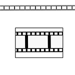 Filmstrip Decorating Roll
