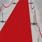 Red Aisle Runner - 15m
