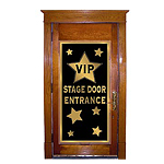VIP Stage Door Entrance Cover