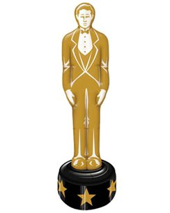 Hollywood Inflatable Gold Statue - 4ft 7""