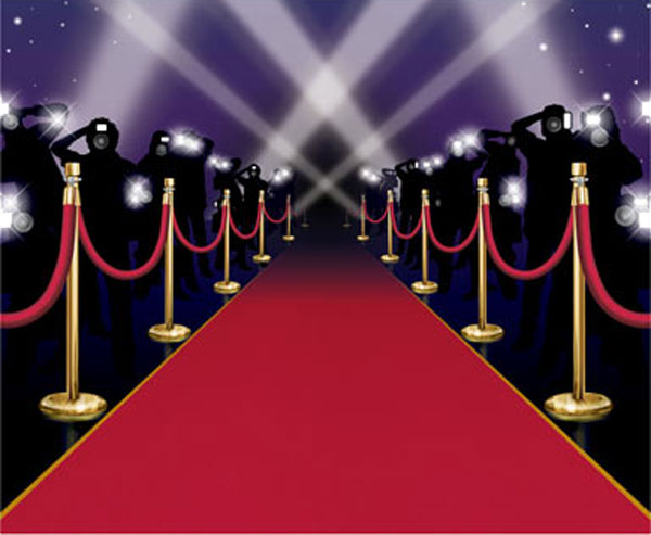 hollywood red carpet clipart. Black Bedroom Furniture Sets. Home Design Ideas