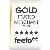 Gold Trusted Merchant 2013 - Feefo