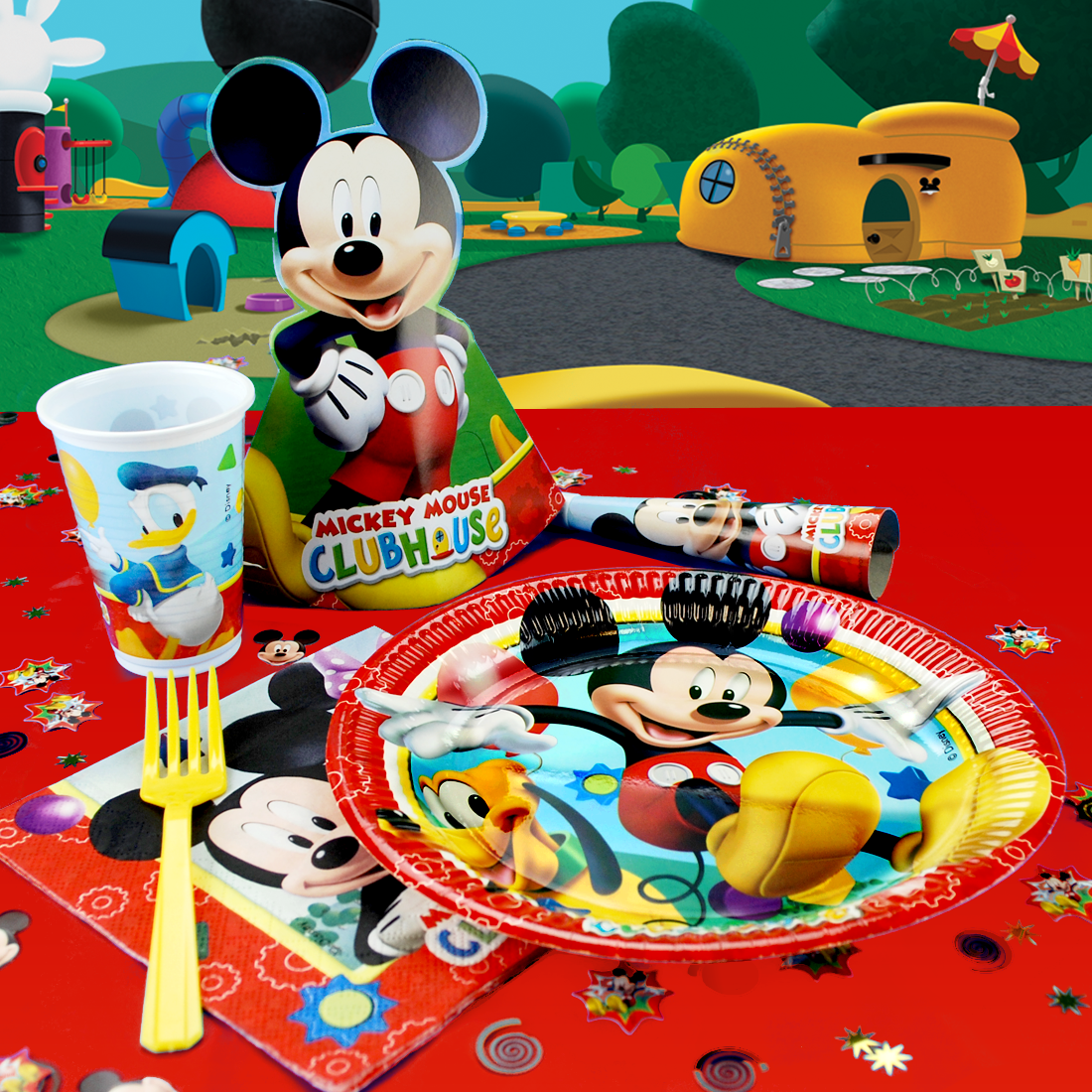 Toddler Party Themes, Mickey Mouse