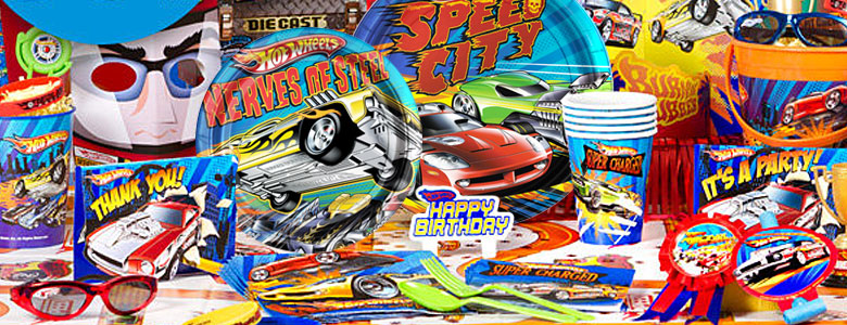 Hot Wheels Party Supplies Party Delights