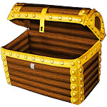 Treasure Chest Cooler - 64cm