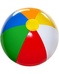 Inflatable Beach Ball - 26cm