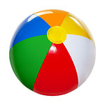 Inflatable Beach Ball - 26cm hight