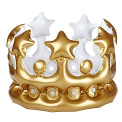 Adults Inflatable Gold Crown