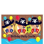 1st Birthday Party Invites - Small