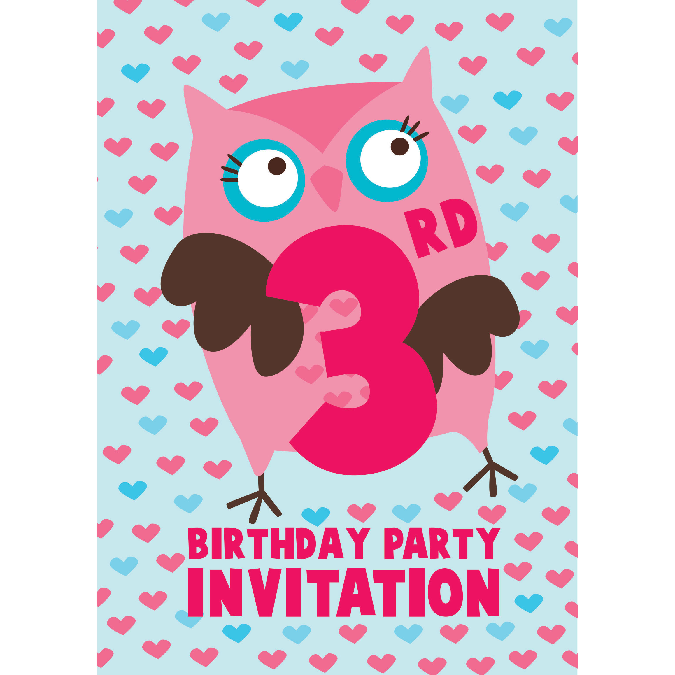 3Rd Birthday Invitations is an amazing ideas you had to choose for invitation design