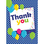 Thank you cards - Blue Spot - Medium
