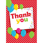 Thank you cards - Red Spot - Medium