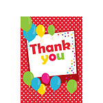 Thank you cards - Red Spot - Small
