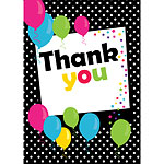 Thank you cards - Black Spot - Medium