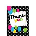 Thank you cards - Black Spot - Small
