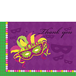 Thank you cards - Masquerade Party - Medium