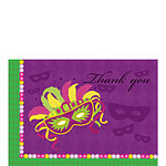 Thank you cards - Masquerade Party - Small