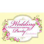 Invitation cards - Wedding Anniversary - Medium