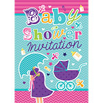Baby Shower Invitation Cards - Medium