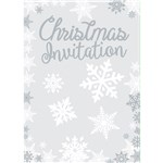 Snowflake Invitation Cards - Medium