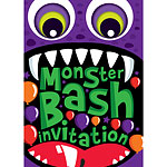 Halloween Monster Bash Invitations - Medium