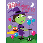 Halloween Witch Invitations - Medium
