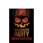 Halloween Invitation - Small