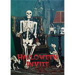 Halloween Invitation Cards - Medium
