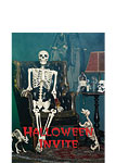 Halloween Invitation Cards - Small