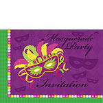 Invitation cards - Masquerade Party - Medium