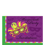 Invitation cards - Masquerade Party - Small
