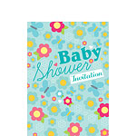 Baby Shower Invitation cards Summer Meadow - Small
