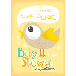 Baby Shower Invitation cards Tweet Tweet - Medium