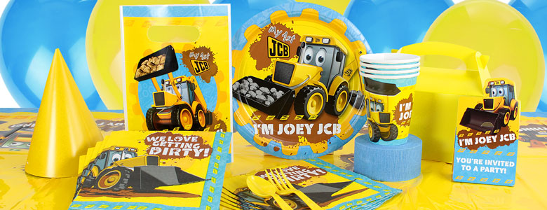 JCB Party Supplies