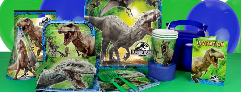 Jurassic World Party Supplies Party Delights
