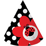 Ladybug Party Cone Hats