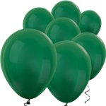 "Forest Green Metallic Mini Balloons - 5"" Latex Balloons"