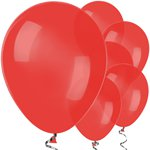 "Red Balloons - 12"" Latex Balloons"
