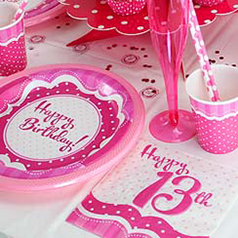 13th Perfectly Pink Birthday