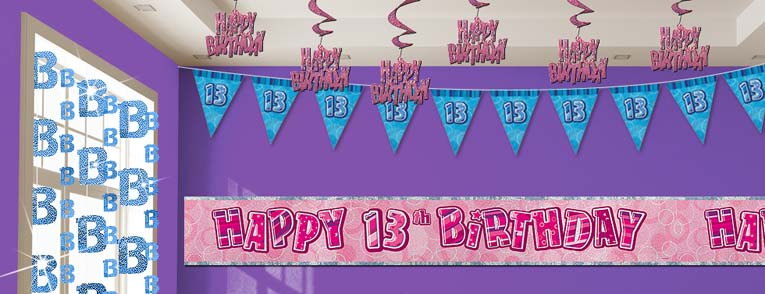 13th birthday party themes 13th birthday party decorations 13th ...