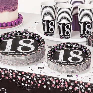 18th Birthday Party Supplies Party Delights